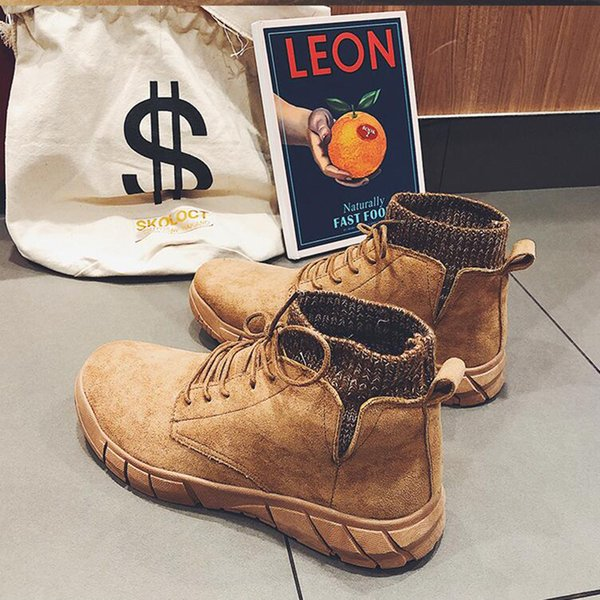 mens casual work boots