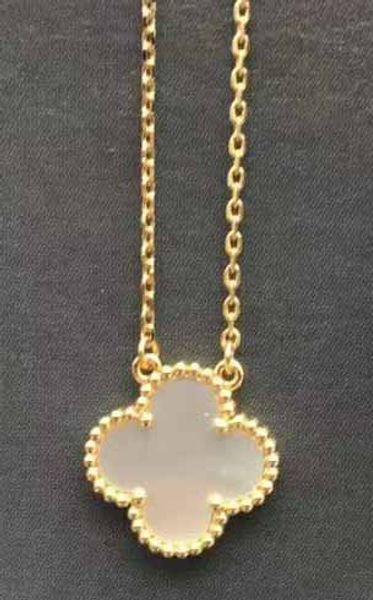 золото + белое ожерелье