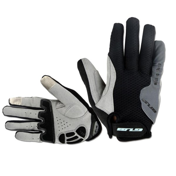 1 Pair New Cycling Gloves MTB Road Bicycle Glove Light Gel Pad Outdoor Riding Glove Full Finger mountain bike accessories