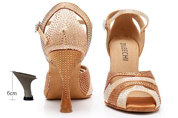 bronze heel 6cm