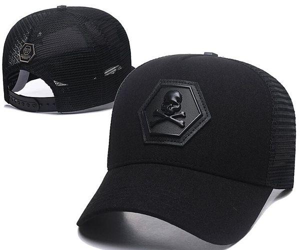 Designer PP Schädel Kappen Casquettes De Baseball Cap Männer Gorras Modemarke Baseball Hüte Rennen Headwear Giants Knochen Sonnenhut Luxus Sonnenhut