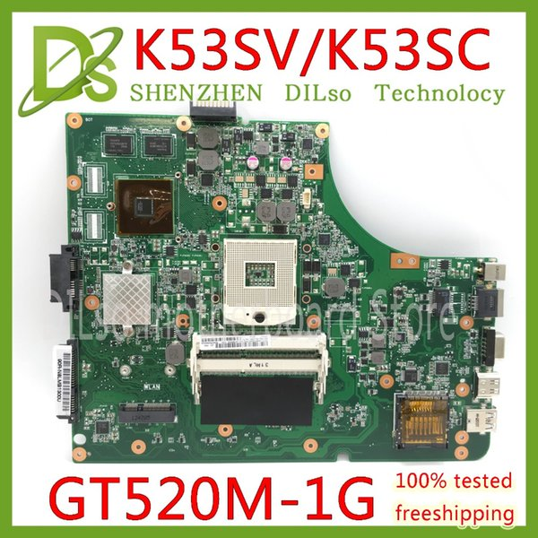 KEFU K53SV Laptop Motherboard K53SV REV 3.0 / 3.1 Passend für ASUS K53SC A53S X53S P53S K53SJ K53SC Notebook