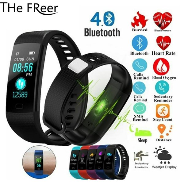 NEW Health Fitness Tracker Blood Pressure Heart Rate Monitor Pedometer Bluetooth Smart Watch Men Women for Xiaomi IOS Phone