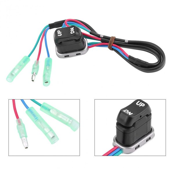 1PC Trim /& Tilt Switch For Yamaha Outboard Remote Controller Motorcycle Switch