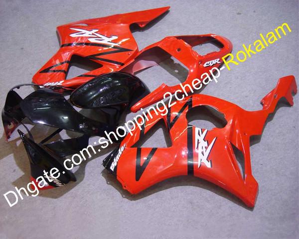 Para carenados Honda CBR900RR 2002 2003 954 CBR900 RR CBR954 02 03 Rojo Kit de recambio para motocicleta negro Carenado (moldeo por inyección)