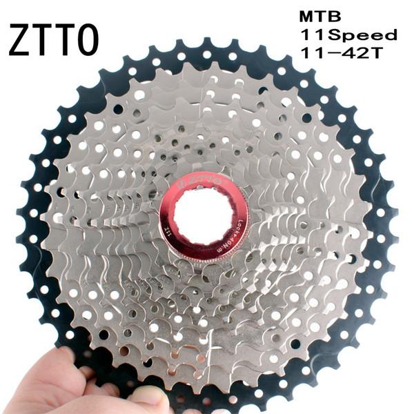 ZTTO MTB Mountain Bike Parts 11Speed 11-42T Casete de rueda libre Compatible con las partes m7000 M8000 M9000 XT SLX XTR
