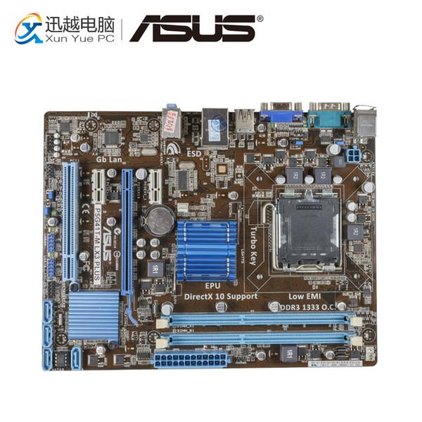 Asus P5G41T-M LX3 Plus Desktop-Motherboard G41-Sockel LGA 775 DDR3 8G SATA2 USB2.0 uATX