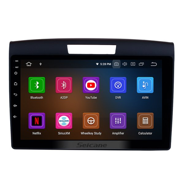 9 Inch Android 9.0 GPS Navi Car Stereo for 2011 2012 2013 2014 2015 Honda CRV with Bluetooth Music USB WIFI support car dvd DVR 1080P Video