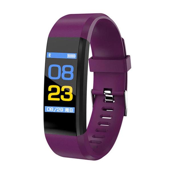 115 Plus smart waterproof bracelet fitness watch pedometer smart heart rate detection bracelet SmartWatch smart watch