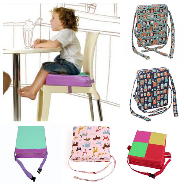 Soft Kids Chair Dining Chair Booster Cushion Toddler Highchair Mats Baby Seat Increase pad Safe Home Office Decor C5758