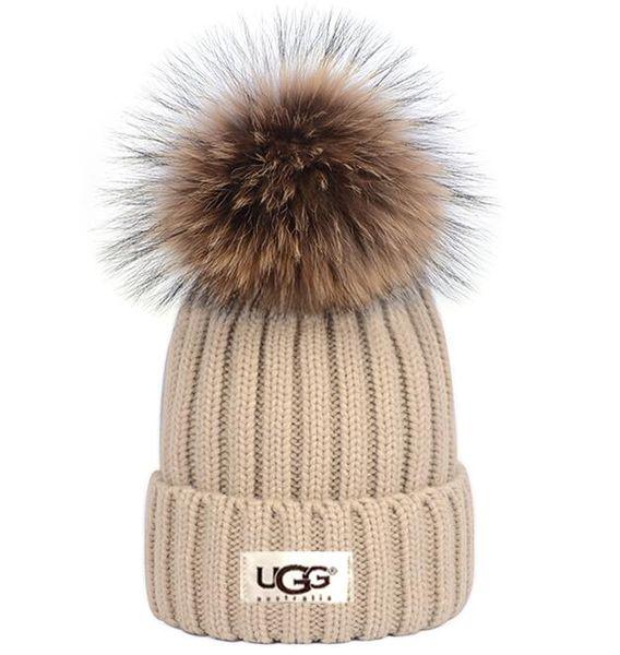 2019 Luxury Winter CANADA men beanie Fashion Designers Bonnet women Casual knitting hip hop Gorros pom pom skull caps hair ball outdoor hats