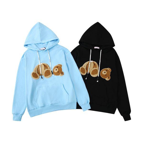 Hoodie Für Frauen der Männer Designer Kapuze Sweatershirts Bär Druck beiläufigen Entwerfer-Marken-Pullover Top-Qualität 19 Fall-Frühlings-Herbst B101688V