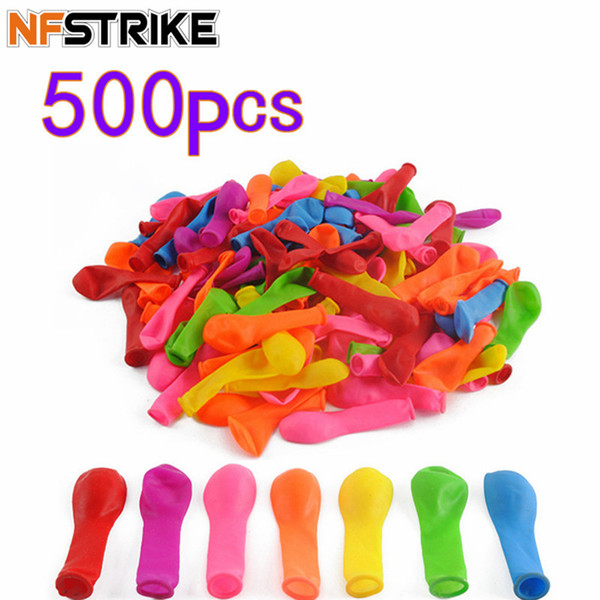 best selling 500Pcs Funny Water Balloons Toys Magic Summer Beach Party Outdoor Filling Water Balloon Bombs Toy For Kids Adult Children
