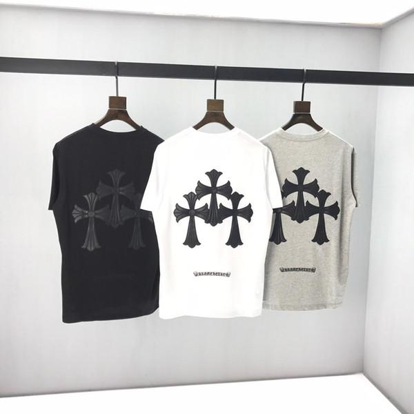 2020 Men's new T-shirt designer casual men's printed short-sleeved T-shirt spring/summer new high-end medusa T-shirt #01