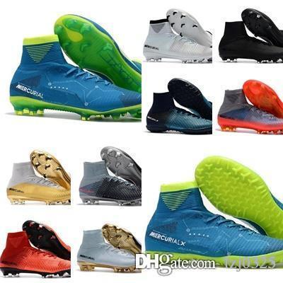 2020 Mercurial Superfly V CR7 FG Quinto Soccer Shoes Mercurial Superfly V FG Boys Football shoes Magista Women Youth Soccer Cleats 40-46