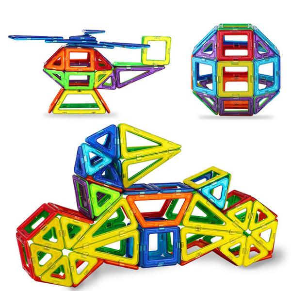 Blocks New 152pcs Mini Magnetic Designer Construction Set Model & Building Toy Plastic Magnetic Blocks Educational Toys for Kids Gift