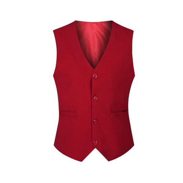 Custom Made Men Waistcoat Excellent Four Buttons Handmade Vest for Business Ceremony Wedding Men Suit Vest
