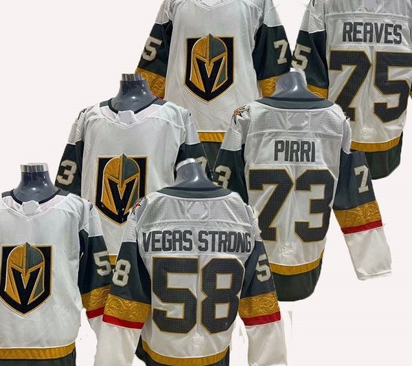 newest 8f0b2 98866 2019 #58 Vegas Strong 73 Brandon Pirri 75 Ryan Reaves Hockey Jerseys From  Cheap_sneaker, $21.84 | DHgate.Com