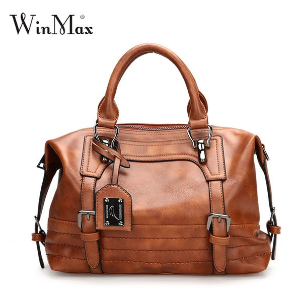 winmax women ladies fashion handbags girls party office shoulder bag female causal totes bag dames handle bags