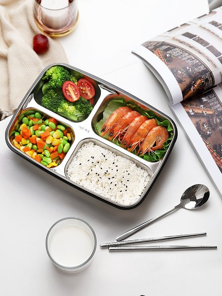 Portable Kitchen Storage Stainless Steel Bowl Silicone Cover Food Container