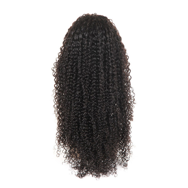 غريب مجعد الشعر البشري