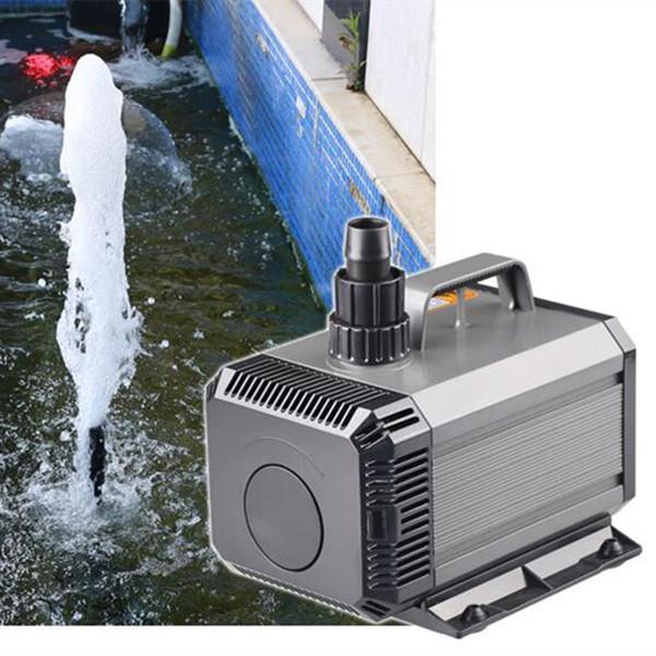 top popular SUNSUN HQB-2500 55W 2000L H Multi-function Aquarium Submersible Pump And Amphibious Curtain Pond Water Fountain Pump 220-240V 2021