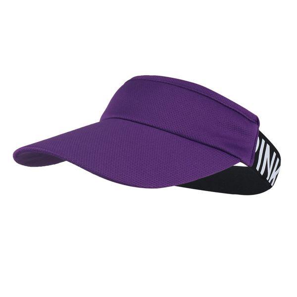 Men Women Plain Curved Sun Visor Baseball Cap Hat Solid Color Fashion elasticity Caps