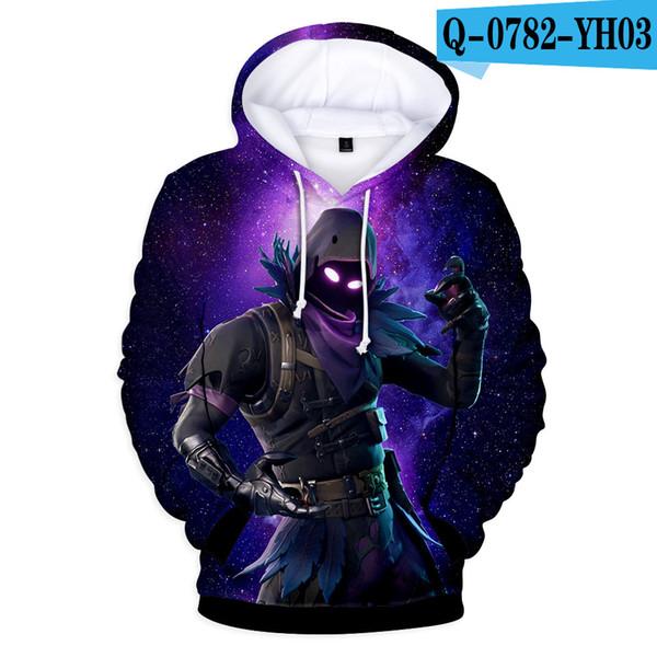 ZY de impresión en 3D con capucha XXXTentacion ropa informal camiseta de la muchacha de la historieta de la blusa Trainingspakken completo Coloreado Pullover