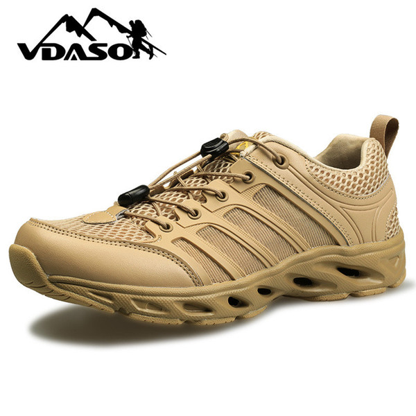 top popular Tactical Water Shoes Boots Outdoor Ultralight Amphibian Shoes Black Khaki Breathable Non-slip Hiking Travel Unisex Wading Shoes K520 2020