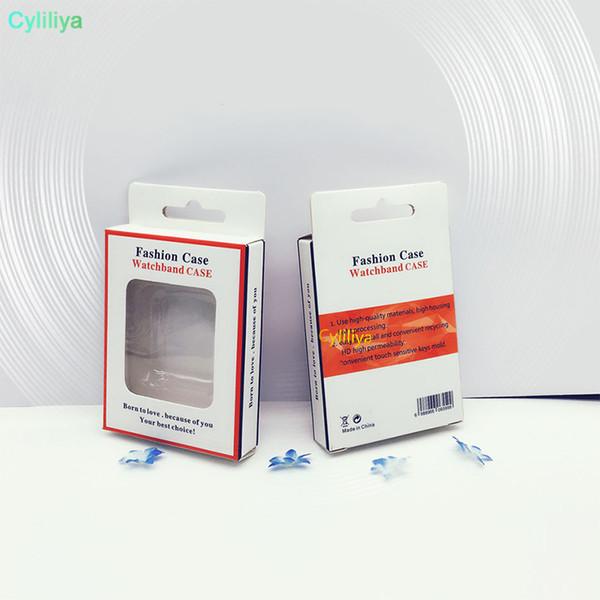 Hot Svuotare scatola di carta al minuto di packaging per il caso della protezione per Apple orologio 38 millimetri 42 millimetri di schermo per guardare serie di Apple 1/2/3 Film