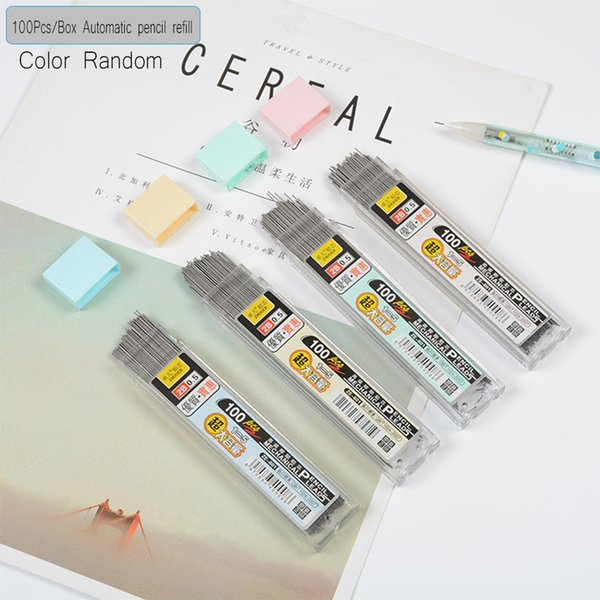 Useful 0.7mm Colored Mechanical Pencil Refill Lead Erasable Student 3 Boxes