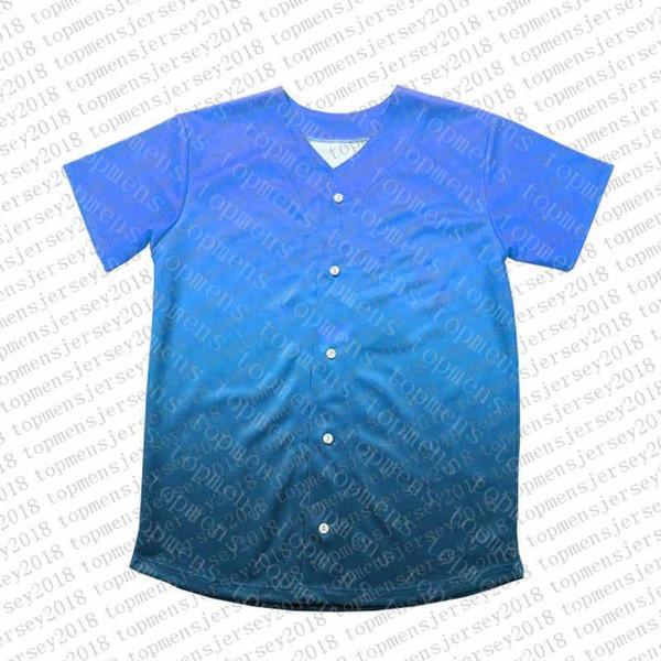 Top Custom Baseball Jerseys der Männer Stickerei Logos Jersey Freies Verschiffen billig Großhandel jeder Name eine beliebige Anzahl Größe M-XXL 36