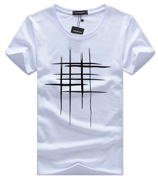 mens designer t shirts clothes Summer Simple Street wear Fashion Men Cotton Sports Tshirt Casual mens Tee T-shirt white black plus size 5XL