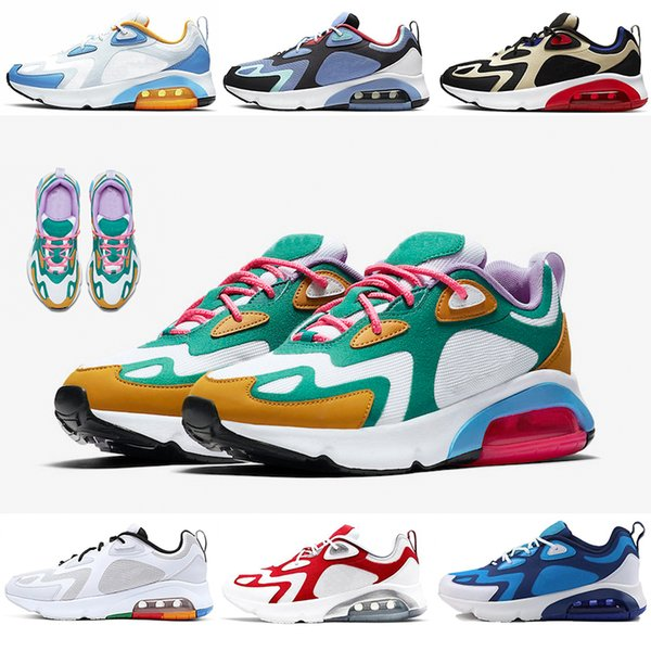 best selling 200 Team Gold Teal Bordeaux Mystic Green Run Running Shoes Cool Grey 200s Cushion Mens Trainers Women Sports Sneakers Designer Runner Shoes