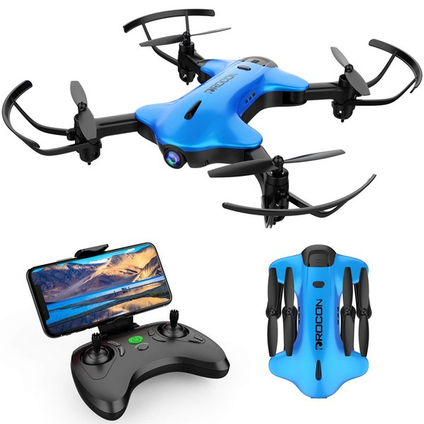 DROCON Ninja Drone for Kids & Beginners FPV RC Drone with 720P HD Wi-Fi Camera,Quadcopter Drone with Altitude Hold, Headless Mode, Foldable
