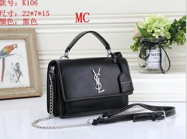 2019 Hot Sale Fashion Ladies Handbags Women bags Designer Handbags Wallets for Women Leather Chain Bag Crossbody Diamond Lattice Shoulder 22