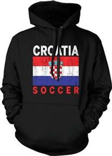 Флаг Хорватии Brandccer Футбол Ногомет Хорватский Hrvatska Гордость Пуловер с капюшоном