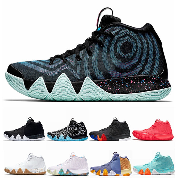 4ed6f129f74d Kyrie Irving 4 IV EP 70s 80s 90s Decade Pack Multi-Color Uncle Drew Irving