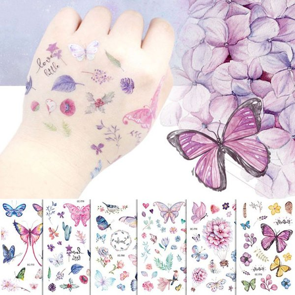 Butterfly Tattoo Design For Kids