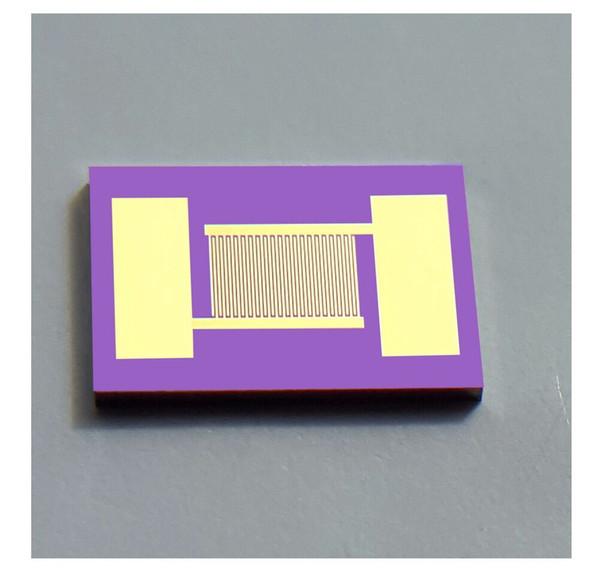 best selling 30 microns Interdigitated Electrodes IDE Monocrystalline Silicon Sputter Gold MEMS Medical Chemical Sensor Biosensor Chip (4mmX6mm)