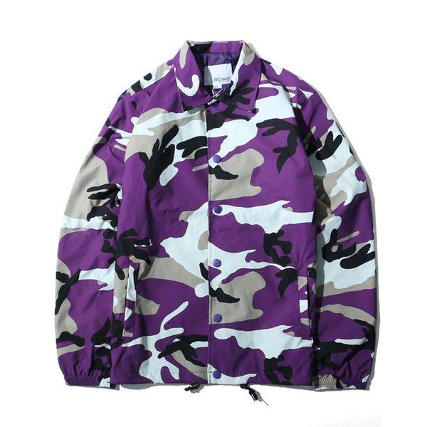 LE7166OU Фиолетовый камуфляж