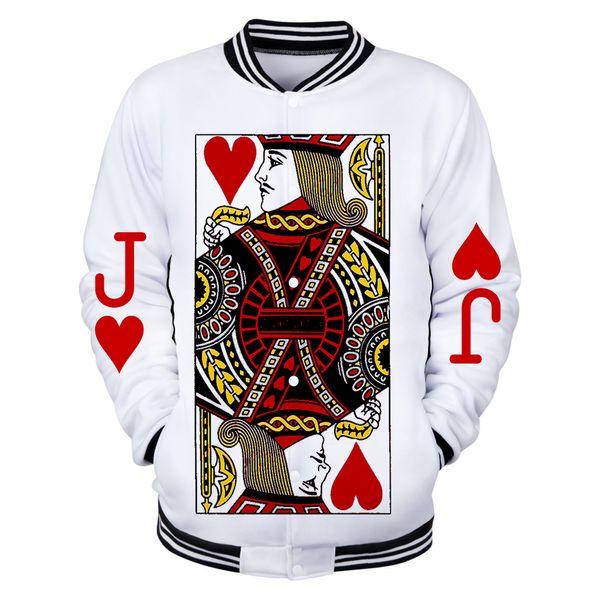 New Baseball Print Kitds Uniform Poker Streetwear Wild Hop J Coat Spiel Weiß Männer Ziron O Großhandel Von Frauen Hip Neck 3d Jacken pzVMSU