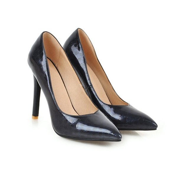 Fashion Hot Sale Womens Ladies Court Shoes Stilettos High Heels Pointy Party Evening Sandals Pumps S1016 US Size UK Size