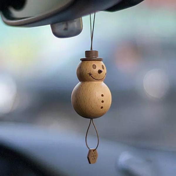 Pendant auto Hanging Pupazzo Deodorante Car Interior Decoration ornamenti Rear View Mirror Accessori per ornamento