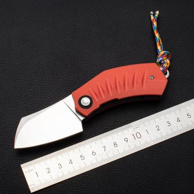 WT020 Folding Knife 440c Blade Tactical Knives G10 Handle Survival Camping Hunting Rescue Knives Outdoor EDC Tools OEM