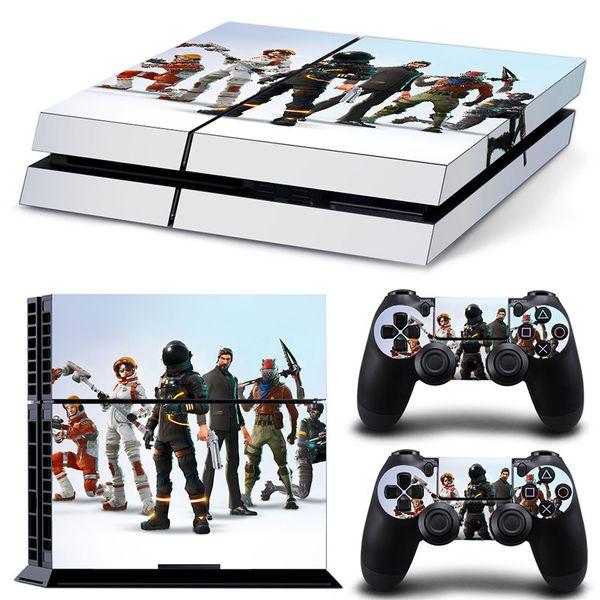 Playstation 4 para el juego Fortnite Stream Overlay Cover PS4 Plus Consola protectora Controlador del sistema Good Kids Friends Gift
