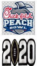 Peach Bowl with 2020