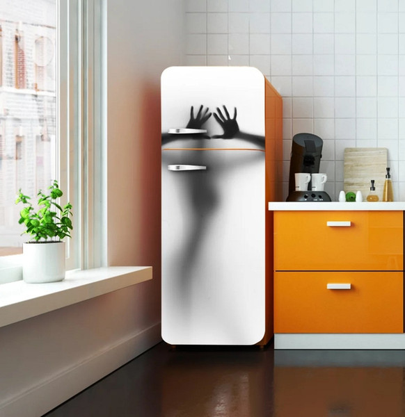 Fridge Wrap /Sexy Lady /Removable Self Adhesive Vinyl /Peel and Stick Decal Wallpaper