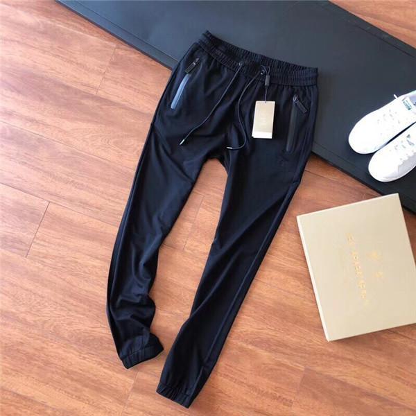 19ss Summer Design lussuoso asciugatura ghiaccio bbr cinghie elastiche in vita Pantaloni da uomo Sport all'aria aperta da donna Pantaloni sportivi da jogging
