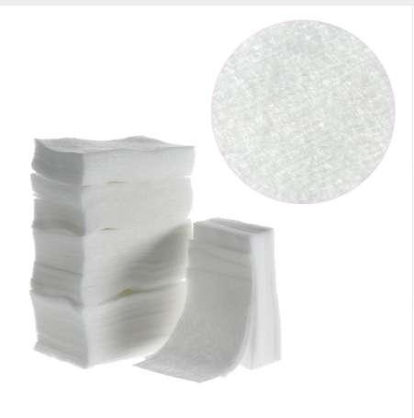 325PCS/lot Nail Polish Remover Soft Cotton White Lint Free Nail Wipes Nail Art Tips Manicure Pads Paper Tools